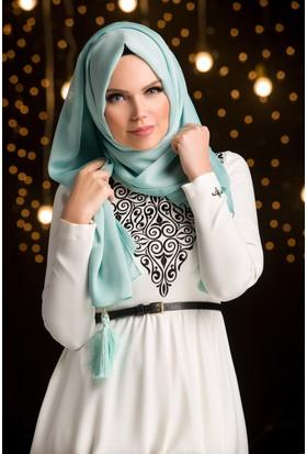 Muslima Wear Şifon Şal Mint