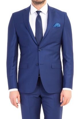 Kiğılı Slimfit Düz Takım Elbise 6Y1N9N2T