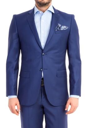 Kiğılı Slimfit Düz Takım Elbise 6Y1N9T2N