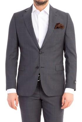 Kiğılı İtalyan Kareli Takım Elbise 7B1X1880