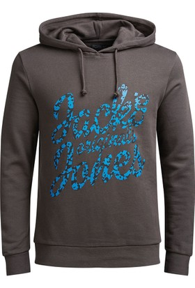 Jack & Jones Erkek Sweatshirt Antrasit 12113182