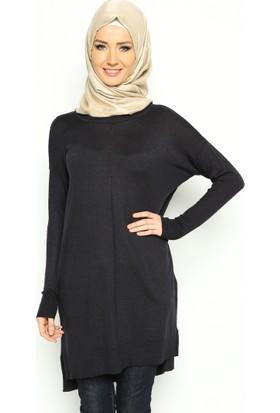 Triko Tunik - Lacivert - Seyhan Fashion