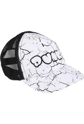 Soobe Funk Punk Boyz Erkek Çocuk Şapka Beyaz (3-12 Yaş)
