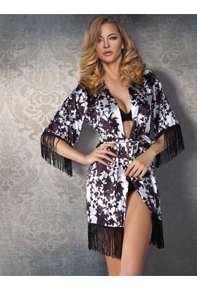 Miorre Kimono Püsküllü Sabahlık