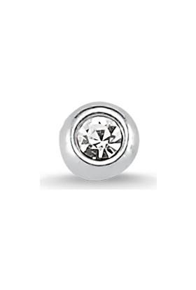 Altınsepeti Gümüş Tektaşlı Burun Hızması Hzmk22