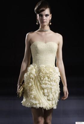 Nelida Üst Kısmı Payetli Şık Tasarım Elbise