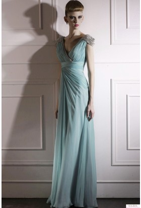 Nelida Taşlı Kap Kollu Elbise
