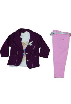Pakel 4580 Kız Ceketli Takım