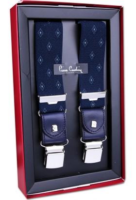 Pierre Cardin Lacivert Motif Desen Pantolon Askısı PA18