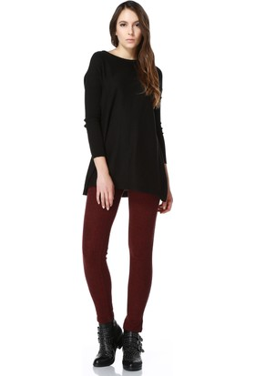 Wotto Collection Kaşe Pantolon Cepli Tayt