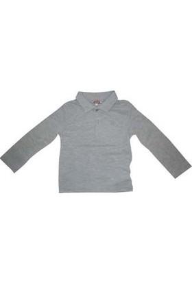 Zeyland Erkek Çocuk T-Shirt Uzun Kol Polo Yaka
