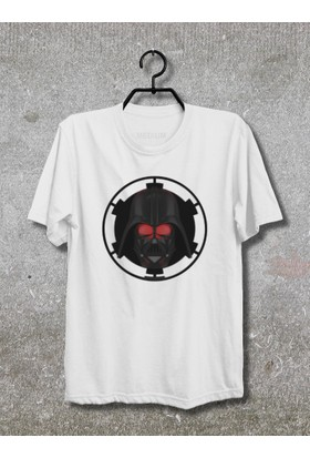Star Wars Rogue One Darth Vader T-Shirt (Tişört) No07 (Beyaz, Xlarge)