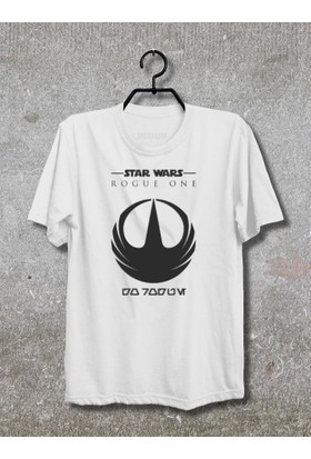 Star Wars Rogue One Darth Vader T-Shirt (Tişört) No01 (Beyaz, Xlarge)