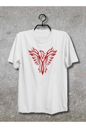 Phoenix T-Shirt (Tişört) (Beyaz, XLarge)