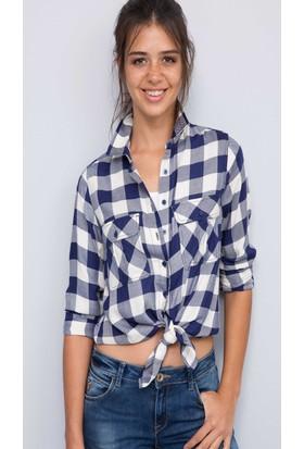 U.S. Polo Assn. Kadın Capoue Gömlek Bej
