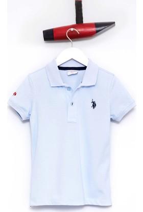 U.S. Polo Assn. Erkek Çocuk Tp01İy7 T-Shirt Mavi