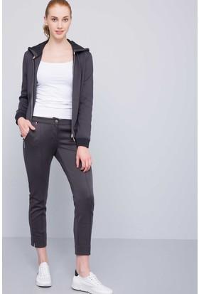 U.S. Polo Assn. Kadın Hima Pantolon Gri