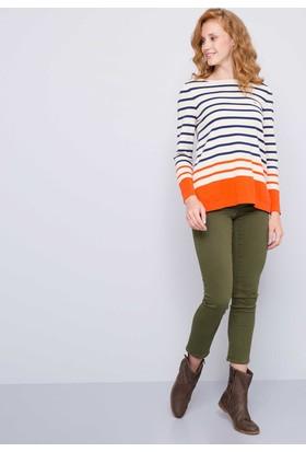 U.S. Polo Assn. Kadın Tina7S Kot Pantolon Haki