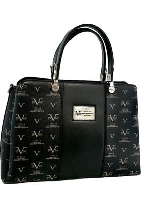 Versace 19.69 Abbigliamento Sportivo Srl. 9001 Kadın Çanta Siyah