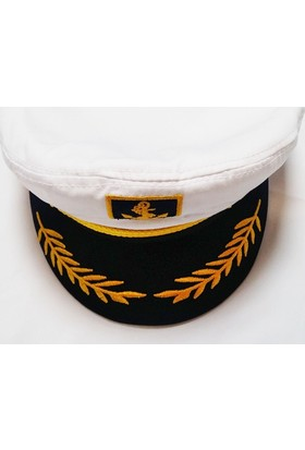 Mugespor Denizci Kaptan Şapkası