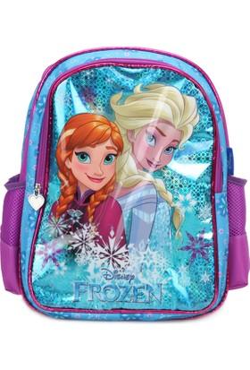 Frozen 89327 Mavi Kız Çocuk Okul Çantası