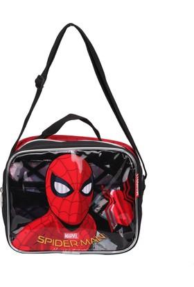 Spiderman 89352 Kırmızı Erkek Çocuk Beslenme Çantası