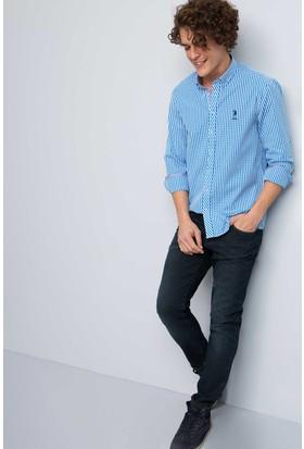 U.S. Polo Assn. Erkek Rick Gömlek Mavi