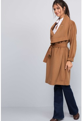 U.S. Polo Assn. Kadın Conradina Kaban Kahverengi