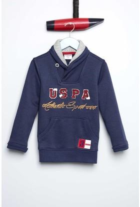 U.S. Polo Assn. Erkek Çocuk Robertsr Sweatshirt Lacivert