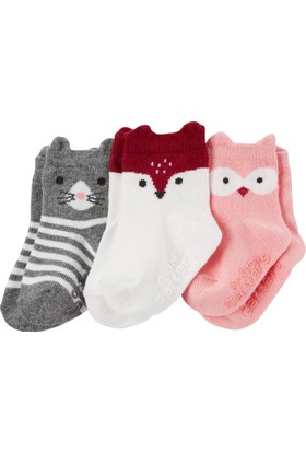 Carter's Kız Çocuk 3'lü Çorap CR03058