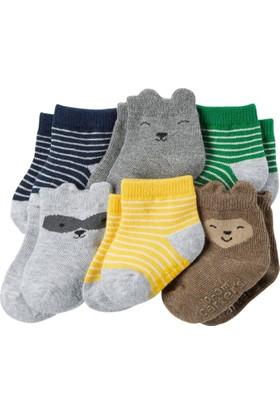 Carter's Erkek Bebek 6'lı Çorap CR03253
