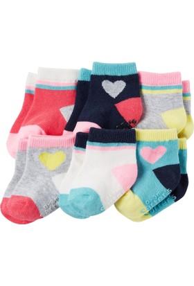 Carter's Kız Bebek 6'lı Çorap CR03266