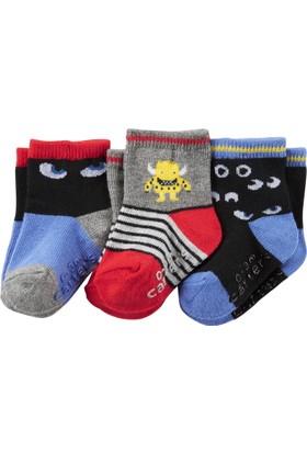 Carter's Erkek Çocuk 3'lü Çorap CR03296
