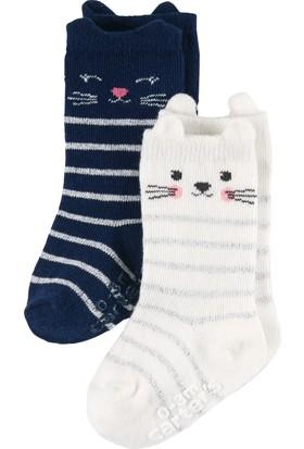 Carter's Kız Çocuk 2'li Çorap CR03366