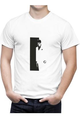 Cücüko Scarface Baskılı Tişört