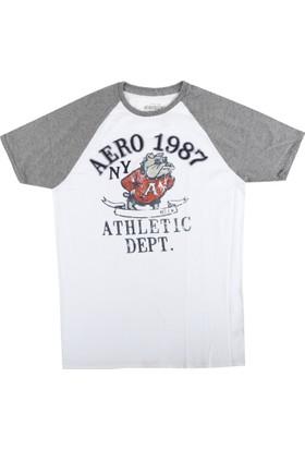 Aeropostale 1073-Bleach Erkek T-Shirt