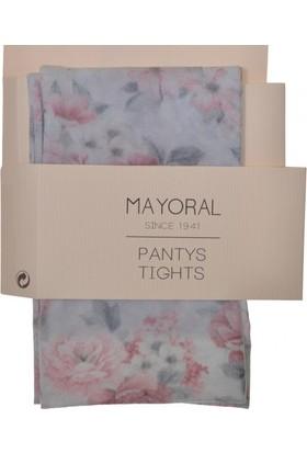 Mayoral Kız Çiçekli Külotlu Çorap