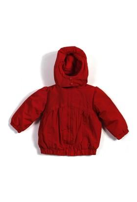 Soobe Kız Bebek Yağmurluk Kırmızı
