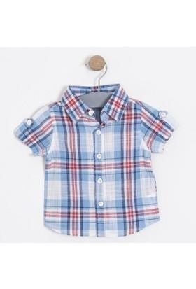 Soobe Erkek Bebek Kısa Kol Gömlek