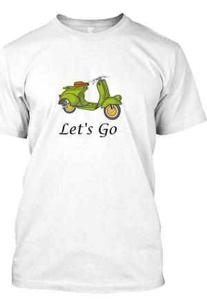 XukX Let'S Go Vespa T-Shirt