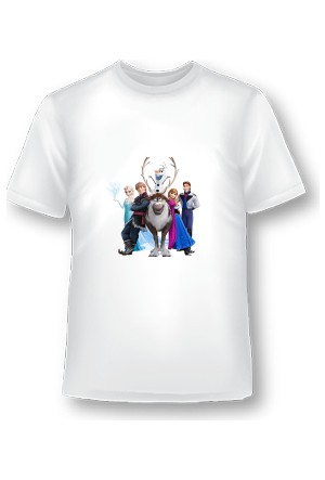 XukX Çocuk Frozen T-Shirt