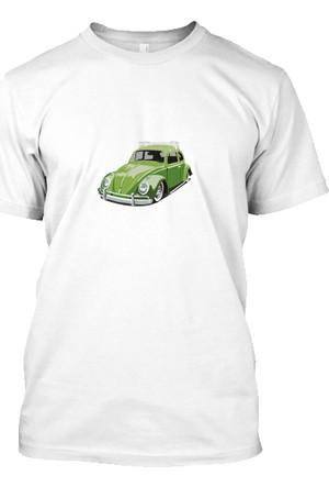 XukX Yeşil Vosvos T-Shirt