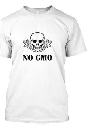 XukX Gıda Mühendisi No Gmo T-Shirt