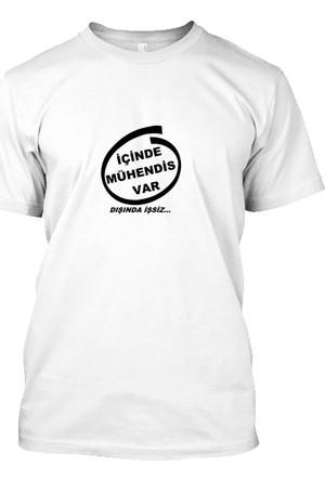 XukX İçinde Mühendis Var, Dışında İşsiz T-Shirt