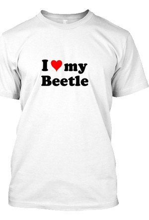 XukX I Love My Beetle T-Shirt