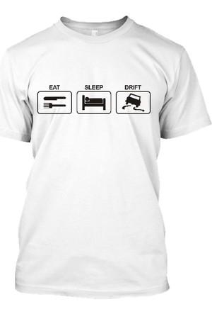 XukX Eat, Sleep, Drift T-Shirt – 2