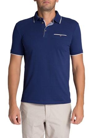 Pierre Cardin Magenta Erkek T-Shirt