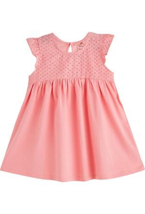 Soobe Pop Girls Kısa Kol Elbise Pink Tint
