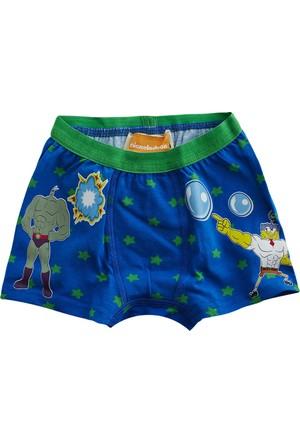 Soobe Lisanslı Sponge Bob Boxer 4 Yaş