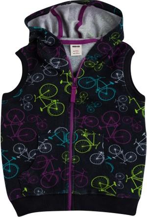 Soobe Bicycle Kapüşonlu Yelek 7 Yaş